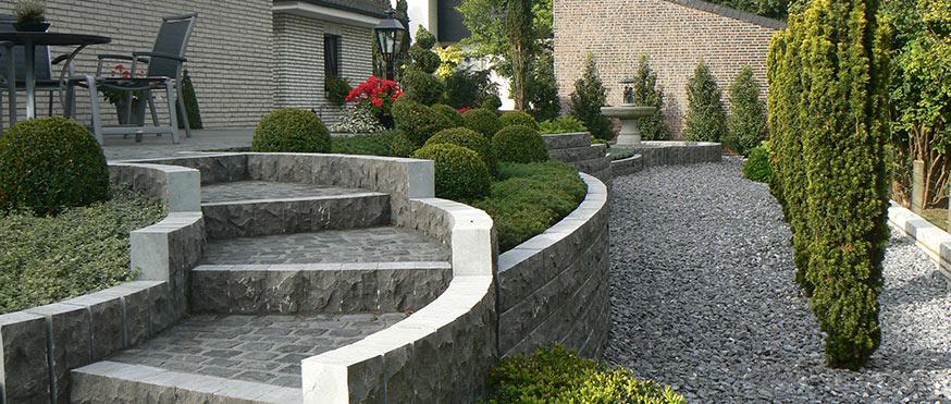 Garten am hang anlegen einen steingarten planen und - Garten anlegen hang ...